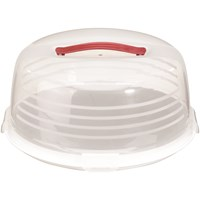 Curver Chef at Home Round White Cake Box