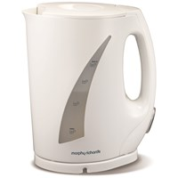 Morphy Richards  Essentials White Jug Kettle - 1.7 Litre