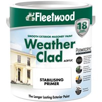 Fleetwood Weather Clad Stabilising Primer Clear - 5 Litre