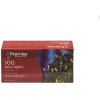 Premier Decorations  100 Fairy Lights - Clear