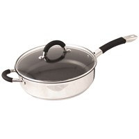 Ready Steady Cook Bistro Non Stick Sauté Pan with Lid - 26cm
