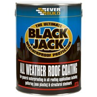 Everbuild Black Jack All Weather Roof Coating - 5 Litre