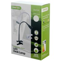 Powermaster  White Clip On LED Desk Lamp - 1W