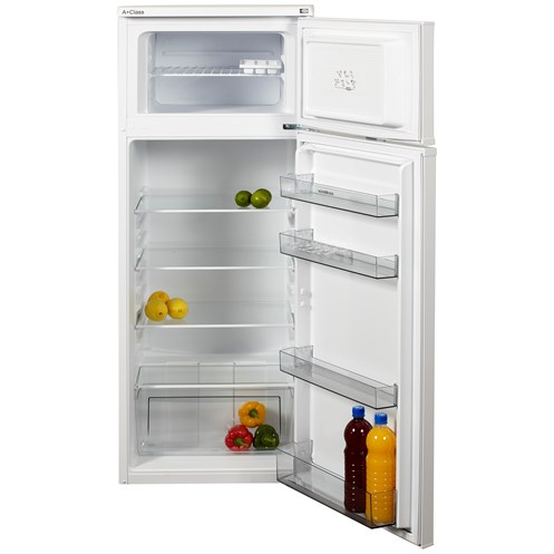 NordMende  Freestanding Fridge Freezer 187 Litre - RFF263WHA+